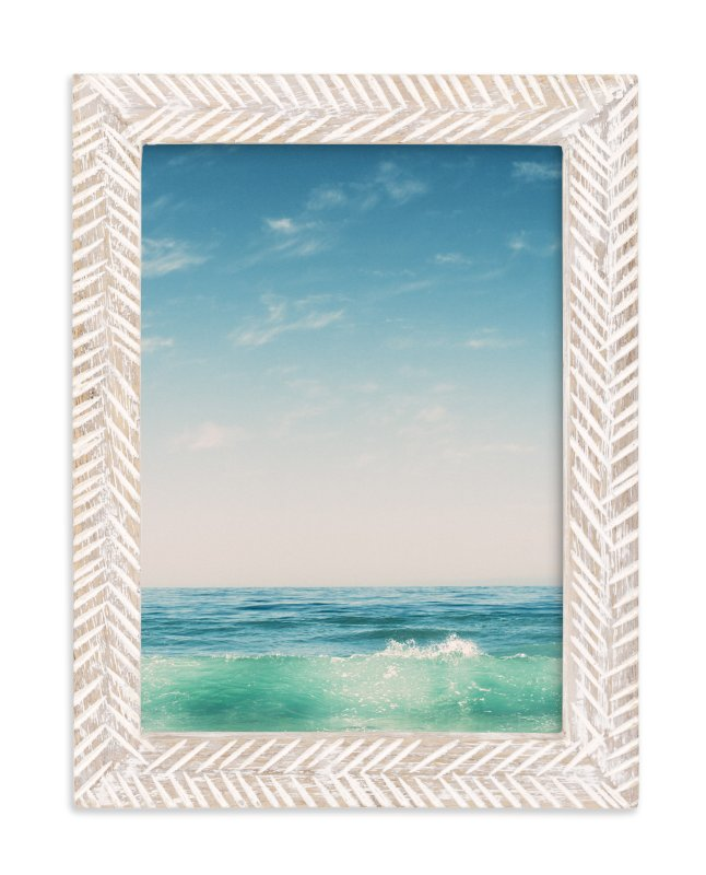"""Malibu Surf and Sky II"" - Limited Edition Art Print by Kamala Nahas in beautiful frame options and a variety of sizes."