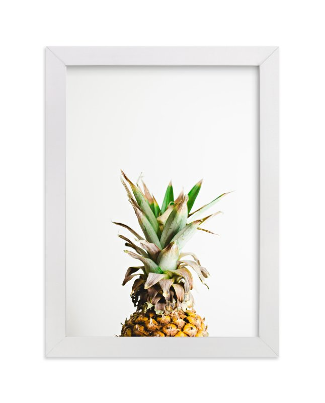 """Pining for Pineapple"" - Limited Edition Art Print by Joni Tyrrell in beautiful frame options and a variety of sizes."