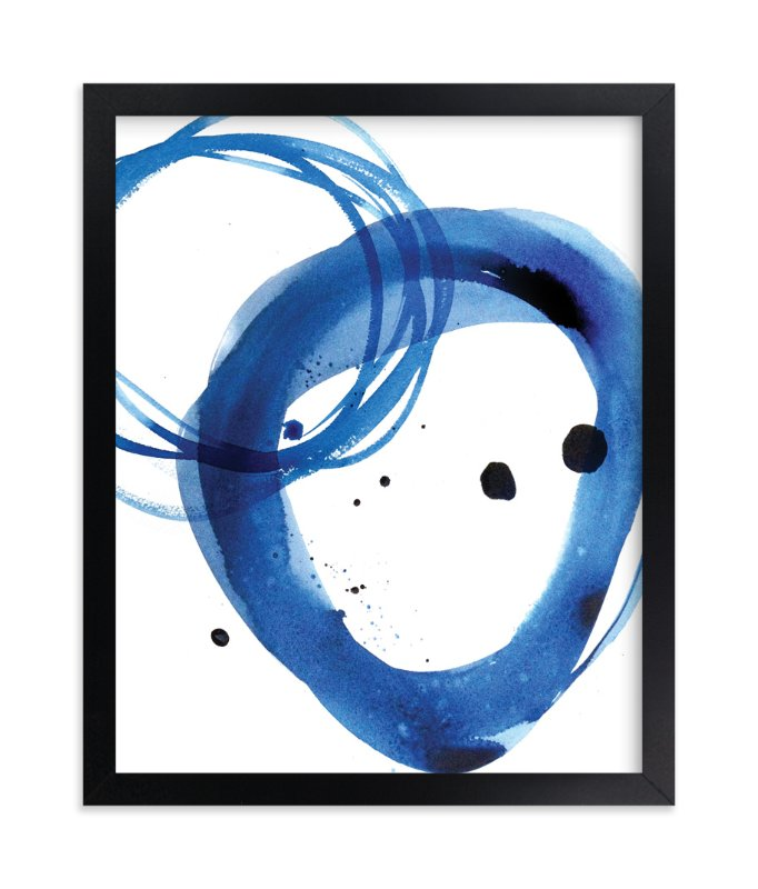 """""""Mingle"""" - Limited Edition Art Print by Julie Song Ink in beautiful frame options and a variety of sizes."""