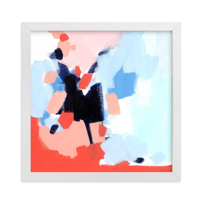 """""""Summer Socks"""" - Limited Edition Art Print by Katie Craig in beautiful frame options and a variety of sizes."""