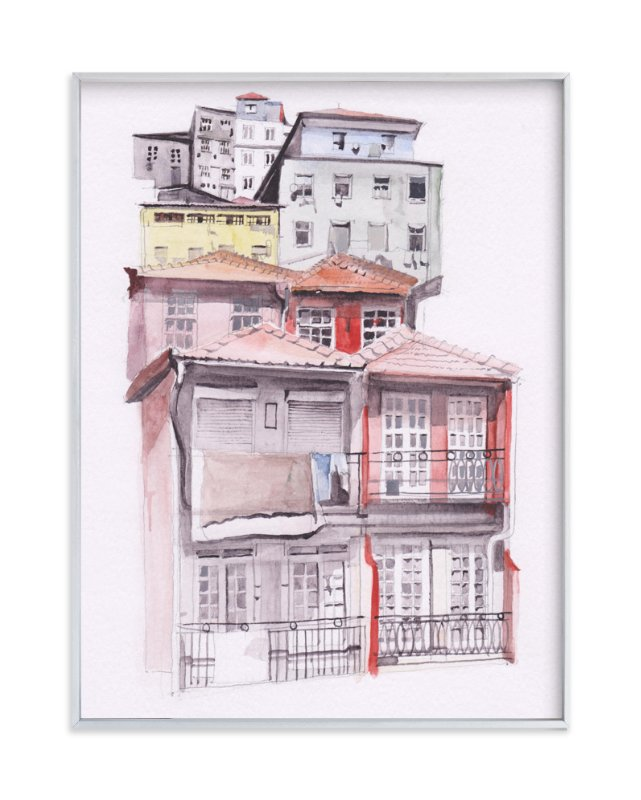 """""""Portugal"""" - Limited Edition Art Print by Viktoria Eperjesi in beautiful frame options and a variety of sizes."""