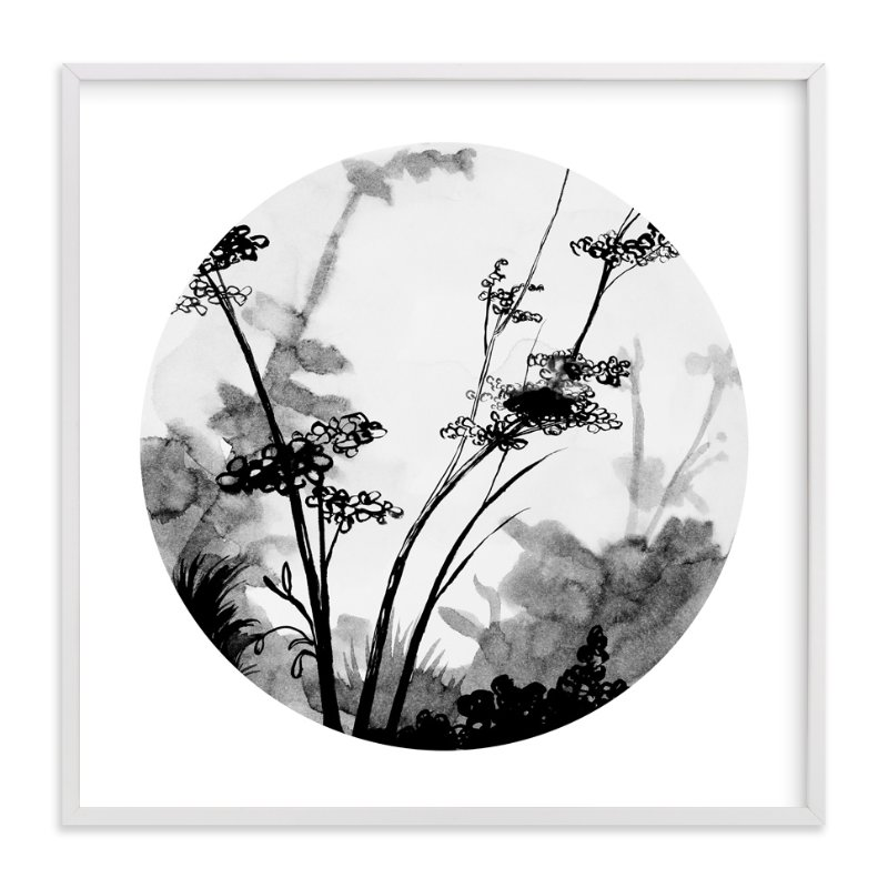 """Queen Anne's Lace"" - Limited Edition Art Print by Lauren Matsumoto in beautiful frame options and a variety of sizes."