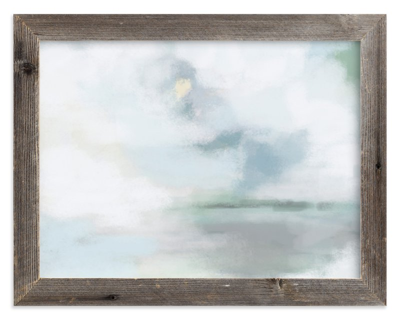 """Monday Blues"" - Limited Edition Art Print by Alison Jerry Designs in beautiful frame options and a variety of sizes."