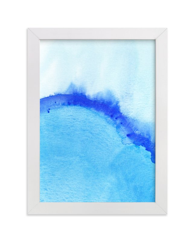 """Waves From Above"" - Limited Edition Art Print by Chelsey Scott in beautiful frame options and a variety of sizes."