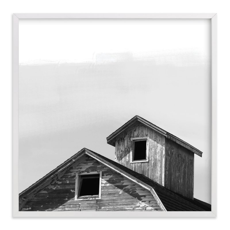 """Salvage - Barn Series 3"" - Limited Edition Art Print by That Girl Studio in beautiful frame options and a variety of sizes."