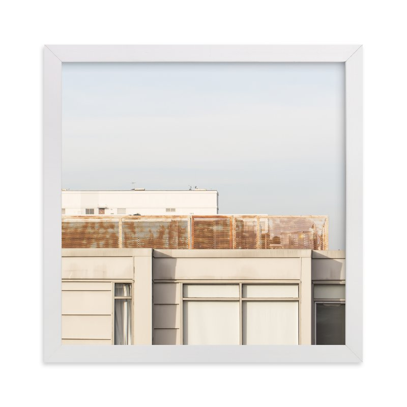 """City squares 2"" - Limited Edition Art Print by Lisa Sundin in beautiful frame options and a variety of sizes."