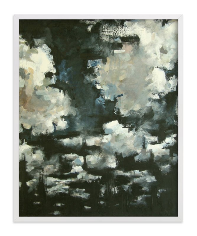 """Night Clouds"" - Limited Edition Art Print by Kelly Johnston in beautiful frame options and a variety of sizes."