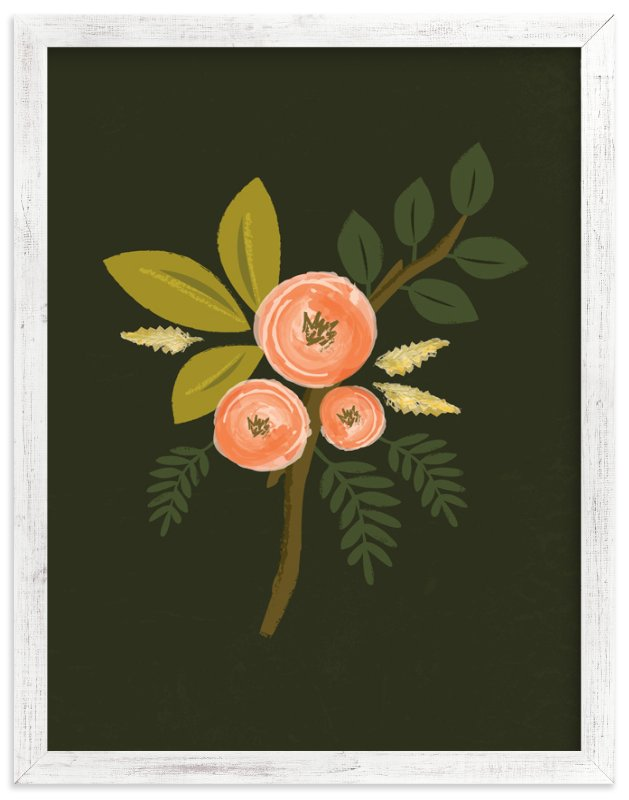 """""""Botanical no.1"""" - Limited Edition Art Print by Karidy Walker in beautiful frame options and a variety of sizes."""