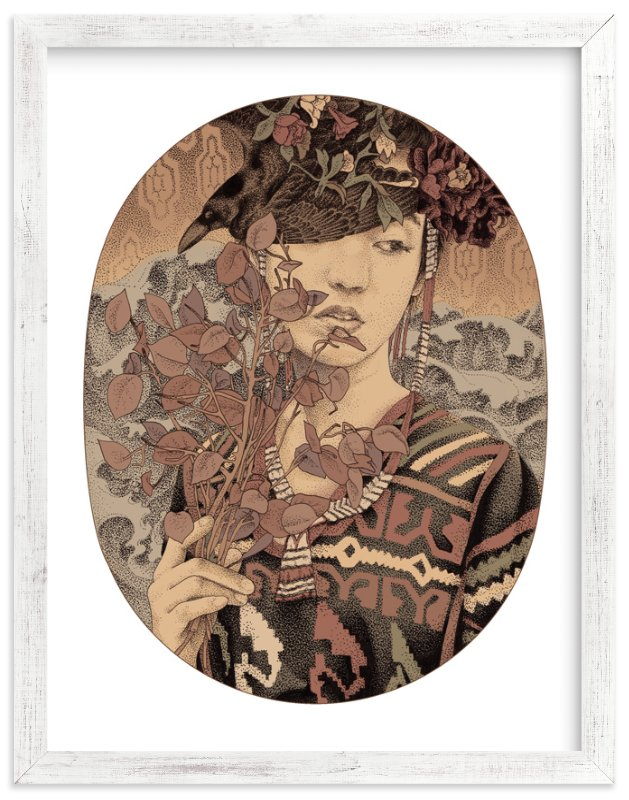 """""""Diwata 3"""" - Limited Edition Art Print by Paper Planes in beautiful frame options and a variety of sizes."""