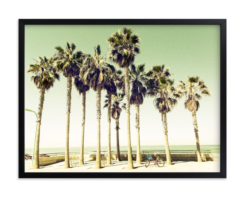 """Pacific Beach"" - Limited Edition Art Print by Michelee Scott in beautiful frame options and a variety of sizes."