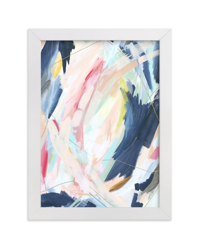 """""""Worry Lines"""" - Limited Edition Art Print by Katie Schermbeck in beautiful frame options and a variety of sizes."""