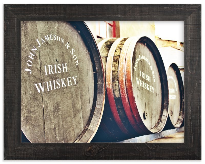 """""""Barrels & Barrels """" - Limited Edition Art Print by Brittany Bay in beautiful frame options and a variety of sizes."""