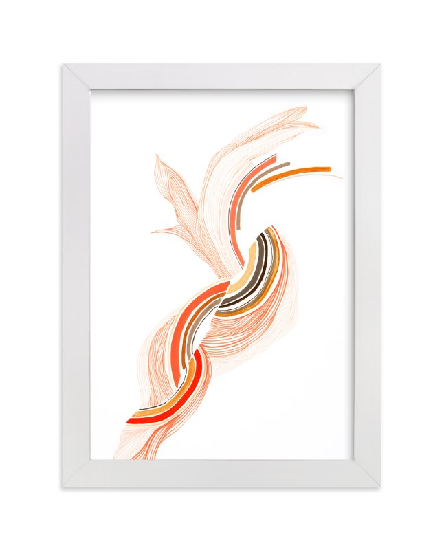"""More Than A Feeling"" - Limited Edition Art Print by J. Wink in beautiful frame options and a variety of sizes."