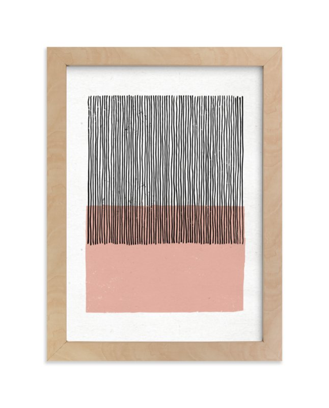 """""""Color Streak"""" - Limited Edition Art Print by Kiersten Garner in beautiful frame options and a variety of sizes."""