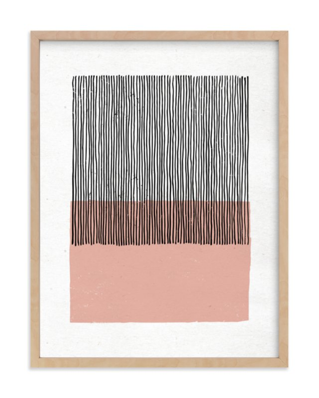 """Color Streak"" - Limited Edition Art Print by Kiersten Garner in beautiful frame options and a variety of sizes."