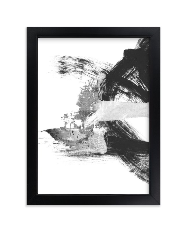 """""""Blackbird Chain"""" - Limited Edition Art Print by Misty Hughes in beautiful frame options and a variety of sizes."""