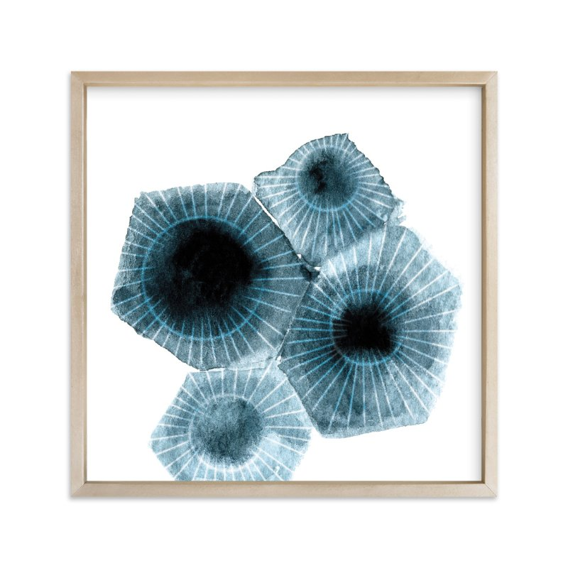 """""""fossilized rock"""" - Limited Edition Art Print by Frooted Design in beautiful frame options and a variety of sizes."""