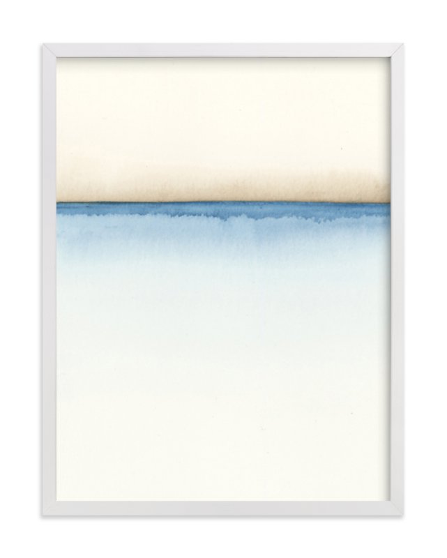 """""""Playa One"""" - Limited Edition Art Print by Emily Magone in beautiful frame options and a variety of sizes."""