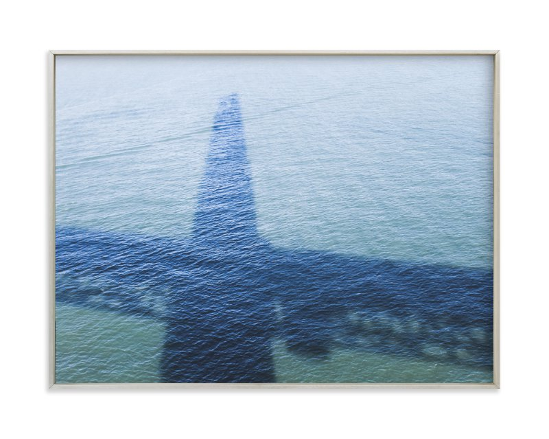 """Golden Gate Shadow"" - Limited Edition Art Print by Annie Montgomery in beautiful frame options and a variety of sizes."