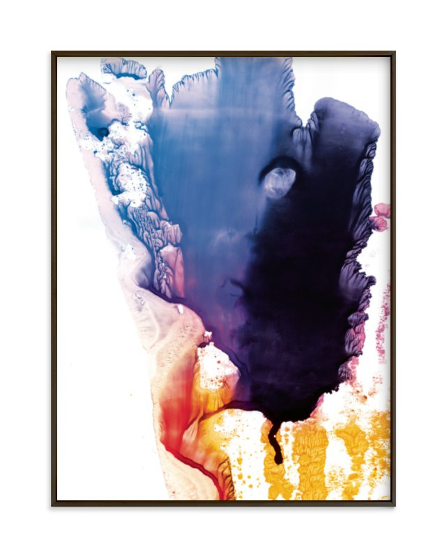 """""""bright splash"""" - Limited Edition Art Print by Halik Helen in beautiful frame options and a variety of sizes."""