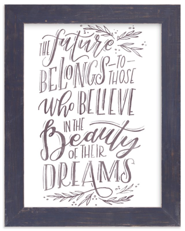 """""""The Beauty of Dreams"""" - Limited Edition Art Print by Grace Kreinbrink in beautiful frame options and a variety of sizes."""