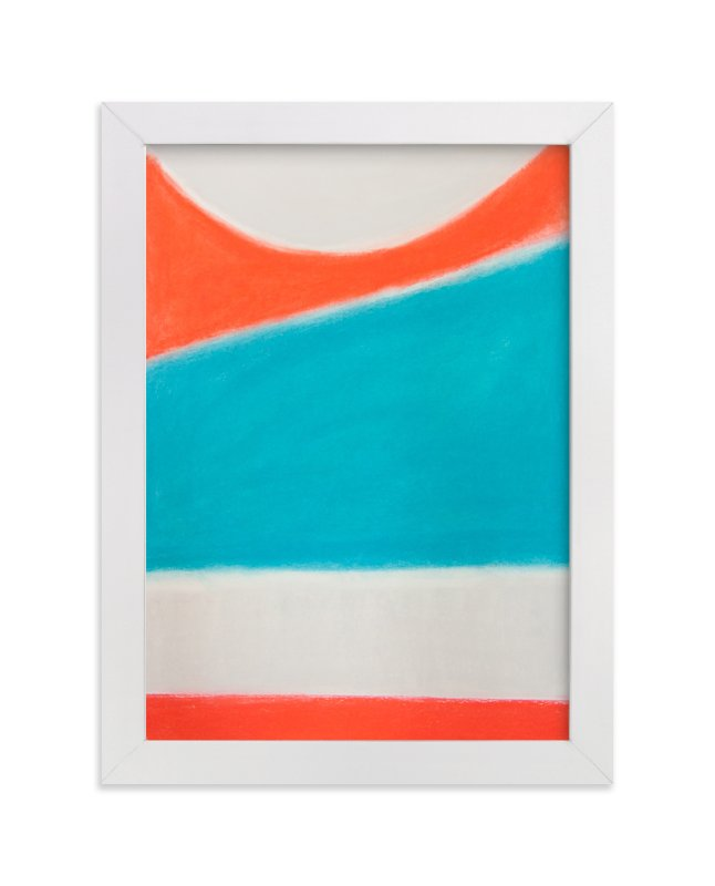 """""""Surf's Up"""" - Limited Edition Art Print by Melanie Biehle in beautiful frame options and a variety of sizes."""