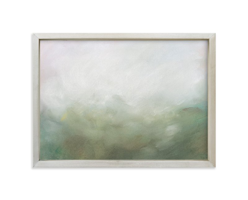 """""""Morning Mist"""" - Art Print by Lorent and Leif in beautiful frame options and a variety of sizes."""