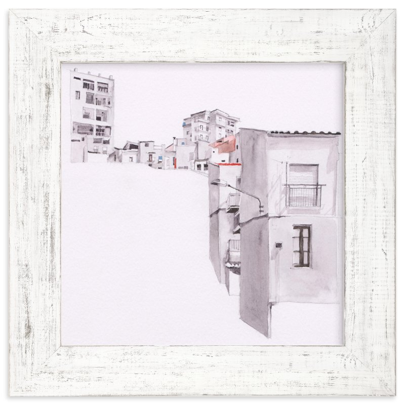 """Sicily"" - Art Print by Viktoria Eperjesi in beautiful frame options and a variety of sizes."