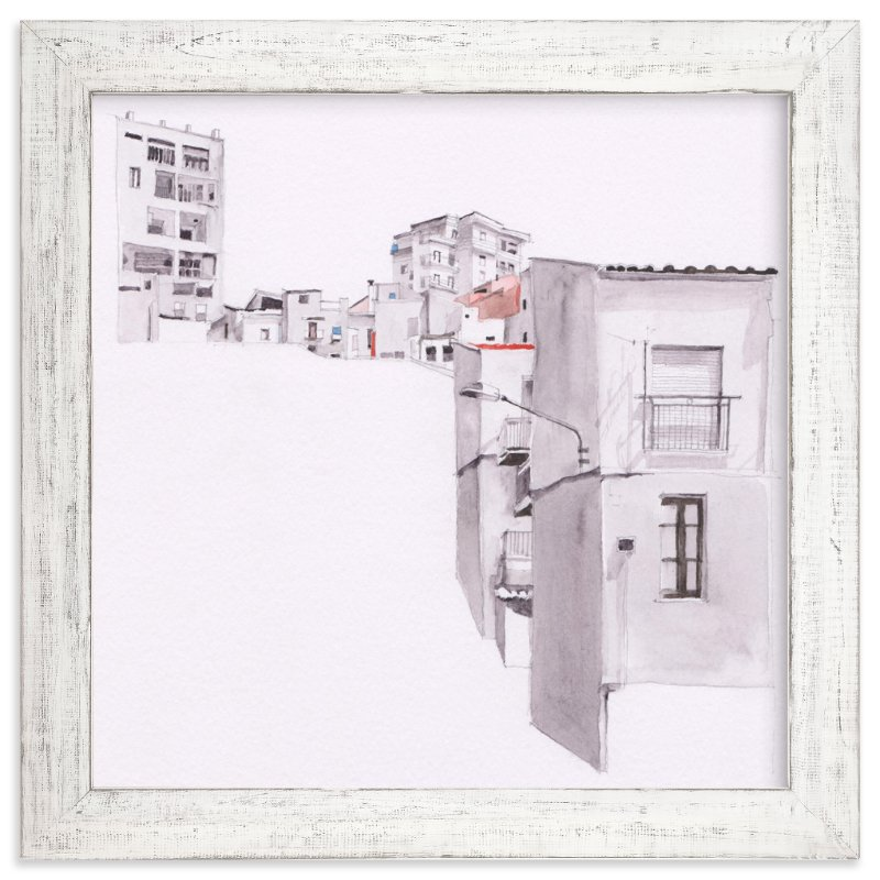 """""""Sicily"""" - Limited Edition Art Print by Viktoria Eperjesi in beautiful frame options and a variety of sizes."""