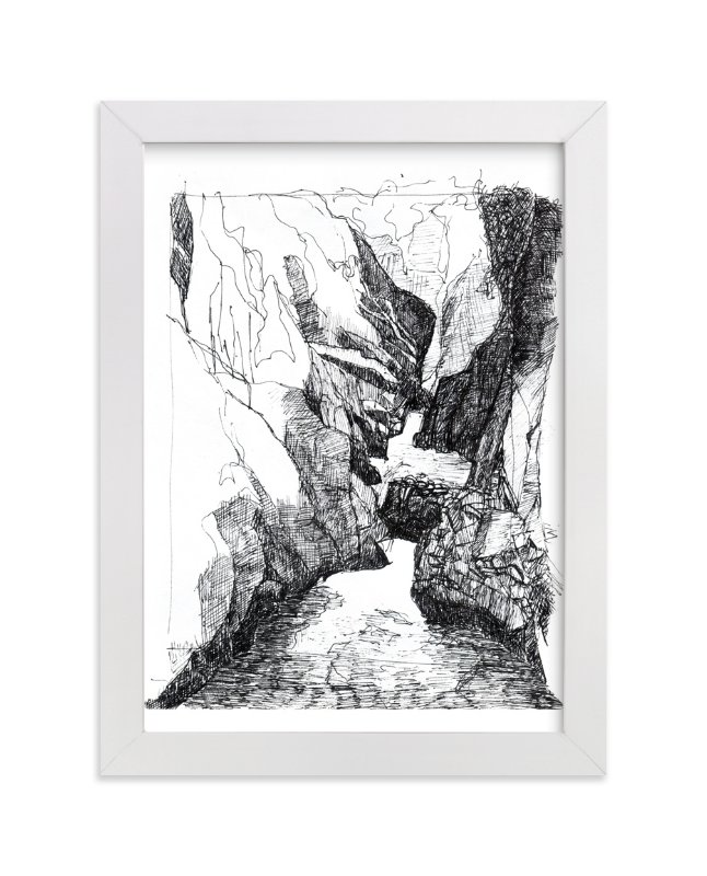 """""""Memories from Canada - Ravine"""" - Limited Edition Art Print by Kathryn Neale in beautiful frame options and a variety of sizes."""