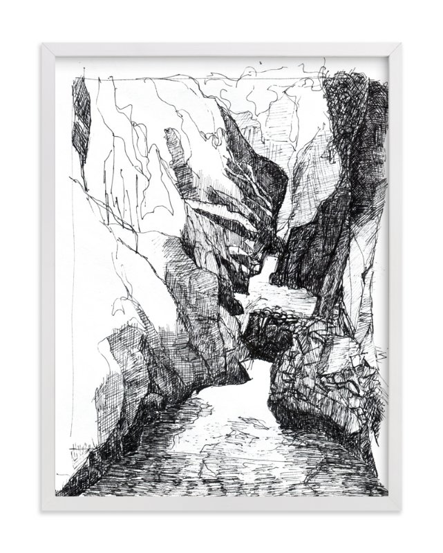 """Memories from Canada - Ravine"" - Limited Edition Art Print by Kathryn Neale in beautiful frame options and a variety of sizes."