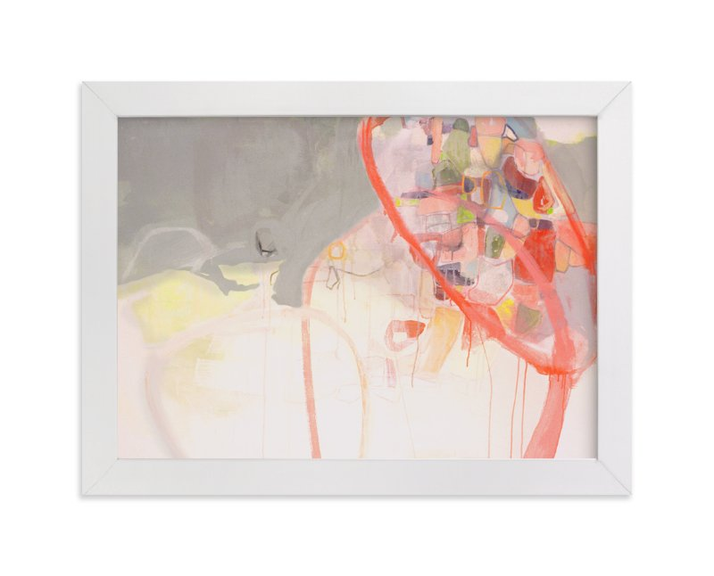 """Red Loops"" - Limited Edition Art Print by Kirsta Niemie Benedetti in beautiful frame options and a variety of sizes."