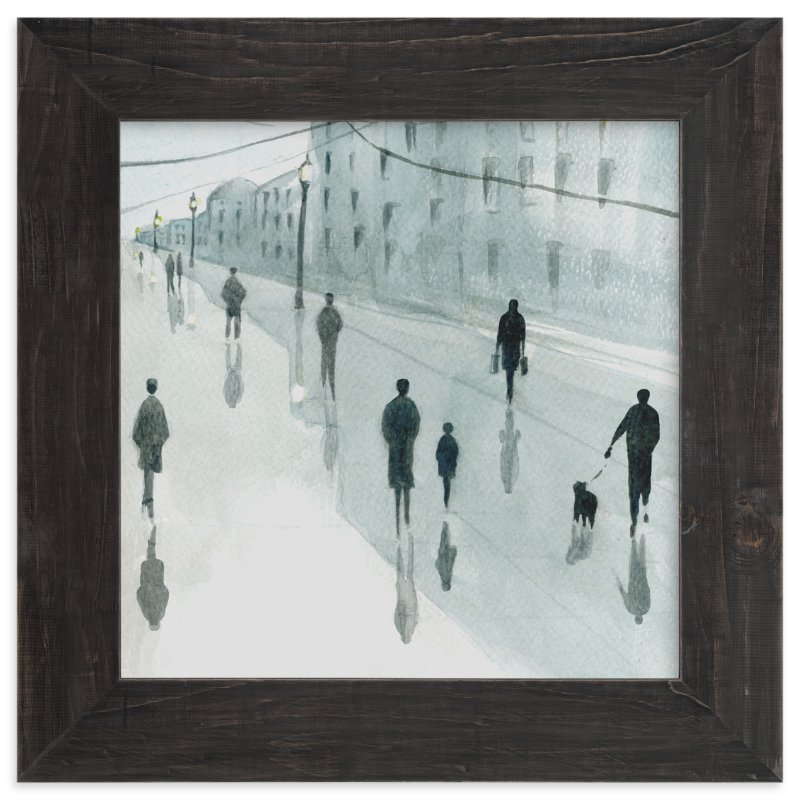 """Strangers"" - Limited Edition Art Print by Lulaloo in beautiful frame options and a variety of sizes."