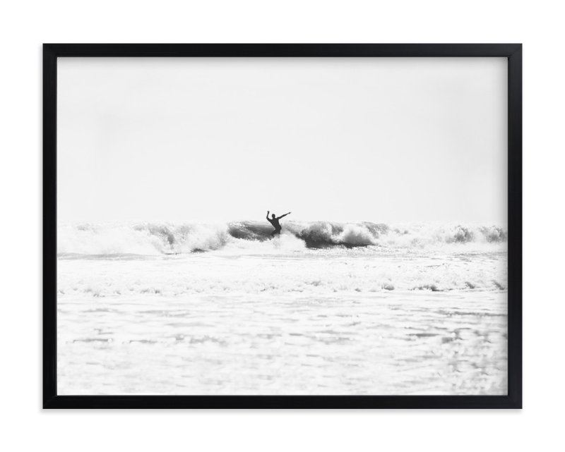 """""""east coast surf"""" - Limited Edition Art Print by Kaitie Bryant in beautiful frame options and a variety of sizes."""