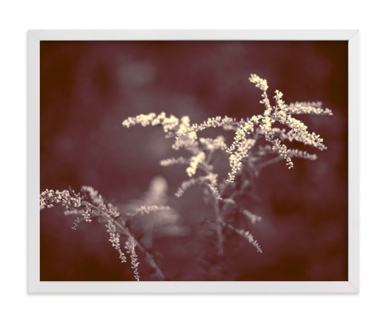 """""""Marsala Flowers"""" - Limited Edition Art Print by Jen Florentine in beautiful frame options and a variety of sizes."""