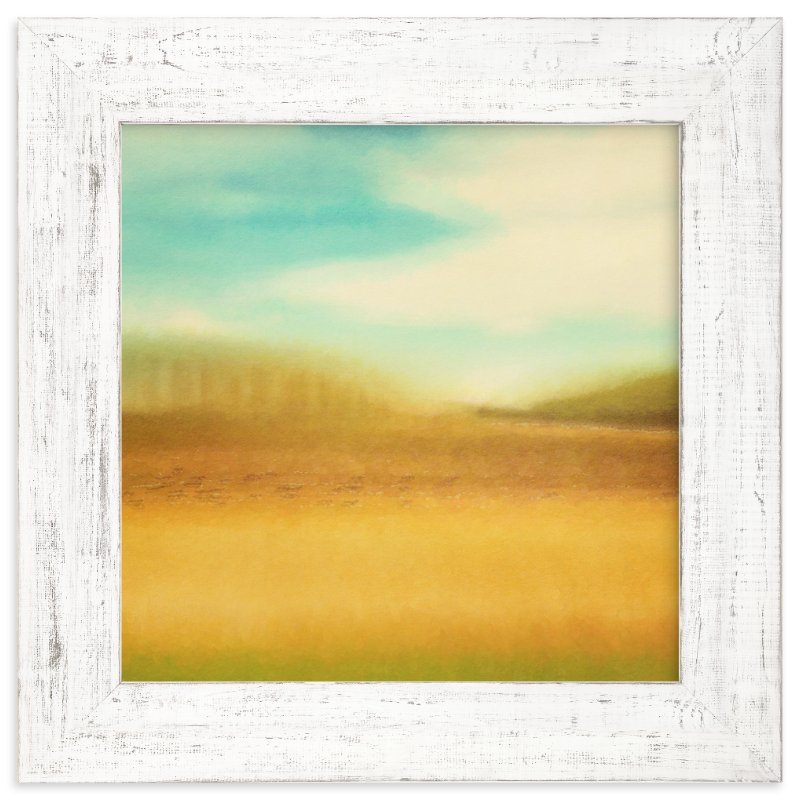 """""""Wild Blue Yonder"""" - Limited Edition Art Print by Stacy Kron in beautiful frame options and a variety of sizes."""