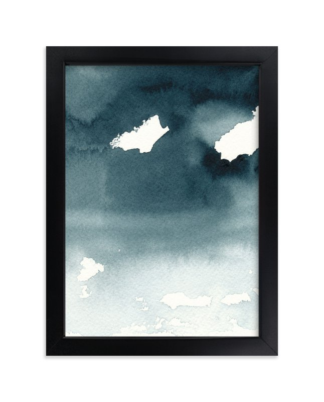 """Mist Rises Over the Water"" - Limited Edition Art Print by Renee Anne in beautiful frame options and a variety of sizes."