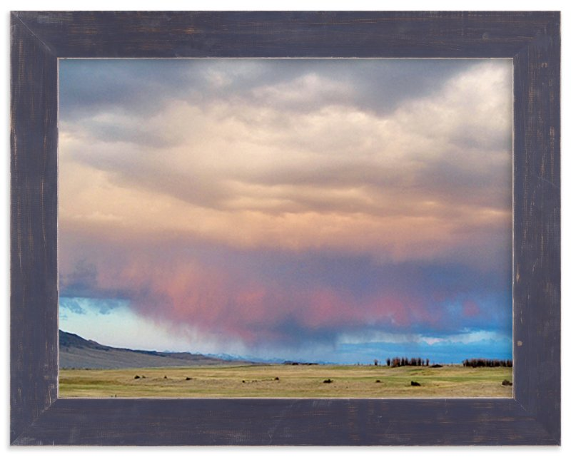 """""""Sweeping Skies"""" - Limited Edition Art Print by Abby Niziol in beautiful frame options and a variety of sizes."""