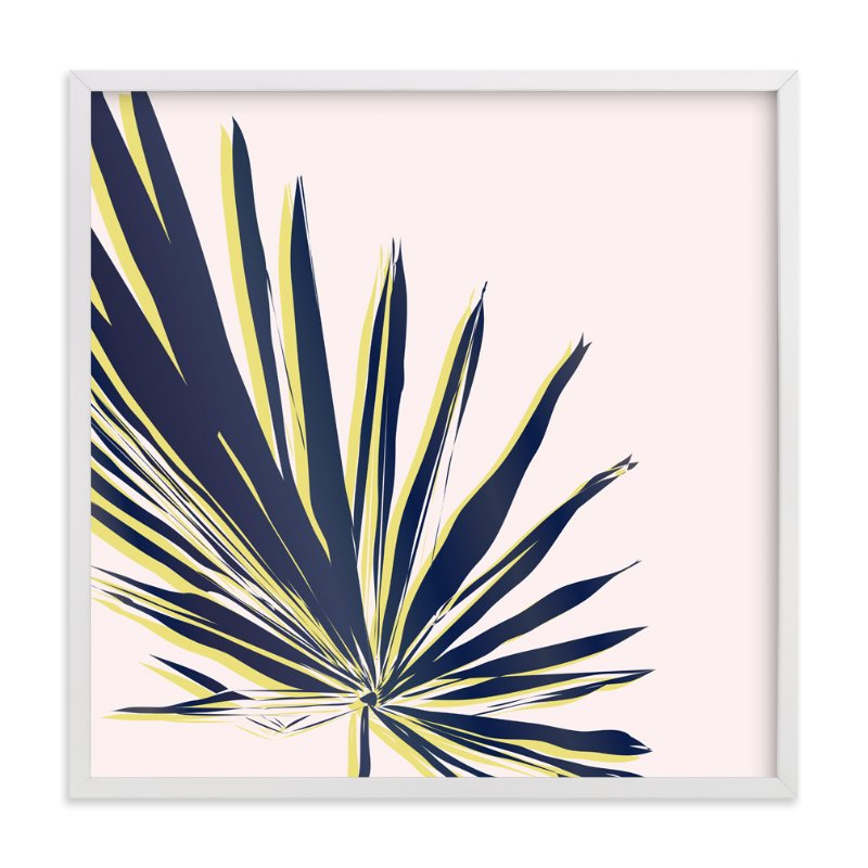 """Palm Study #1"" - Limited Edition Art Print by Cindy Lackey in beautiful frame options and a variety of sizes."