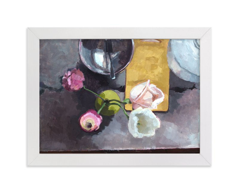 """Kitchen Still Life"" - Limited Edition Art Print by Caitlin Winner in beautiful frame options and a variety of sizes."