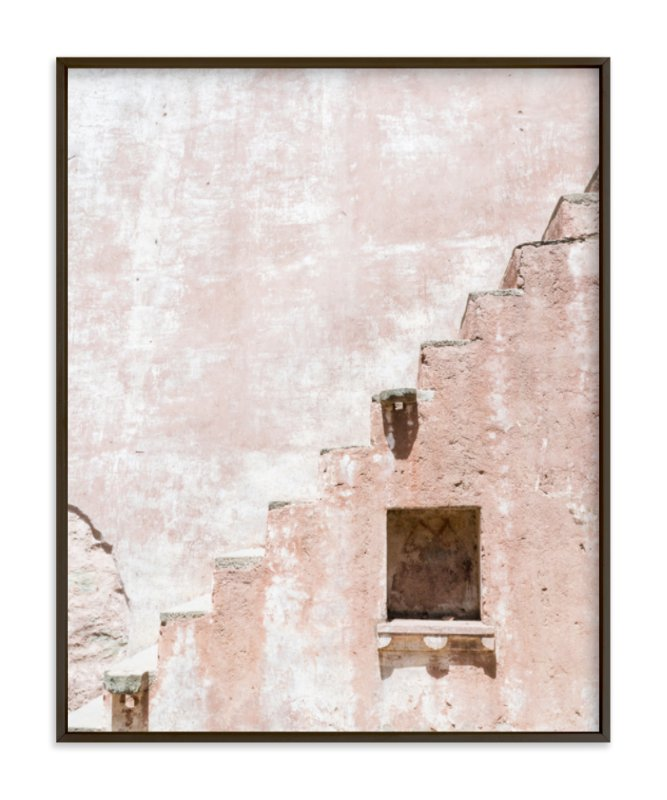 """""""Fortress I"""" - Limited Edition Art Print by Kamala Nahas in beautiful frame options and a variety of sizes."""