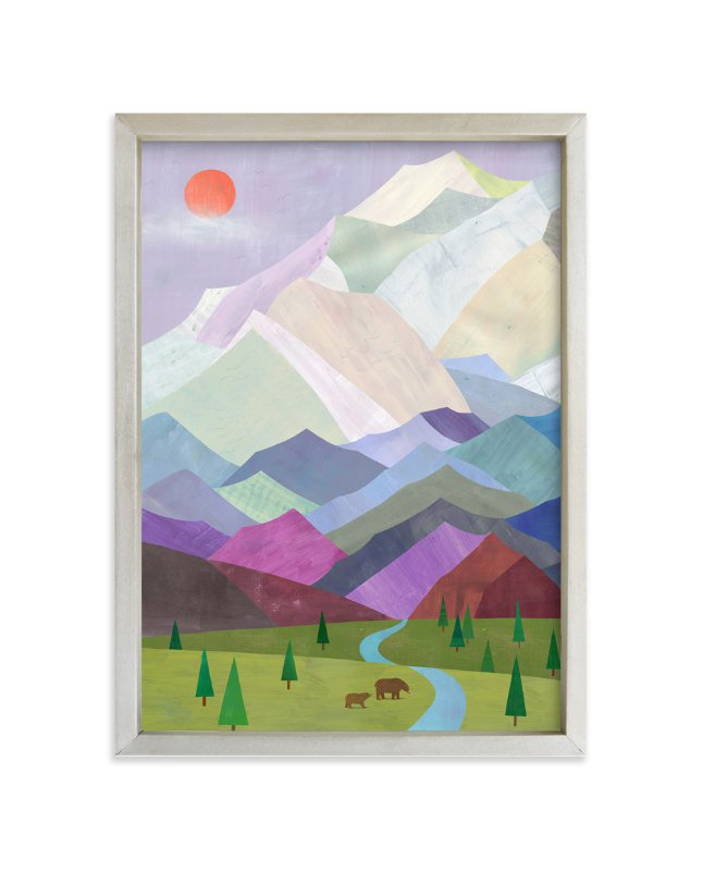 """""""Denali, Alaska"""" - Limited Edition Art Print by melanie mikecz in beautiful frame options and a variety of sizes."""