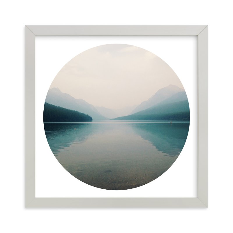"""""""Wildfire Haze"""" - Limited Edition Art Print by AMK in beautiful frame options and a variety of sizes."""