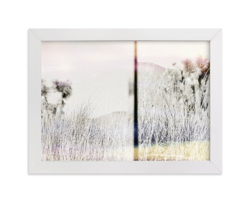 """Joshua Tree"" - Limited Edition Art Print by Kaitlin Rebesco in beautiful frame options and a variety of sizes."