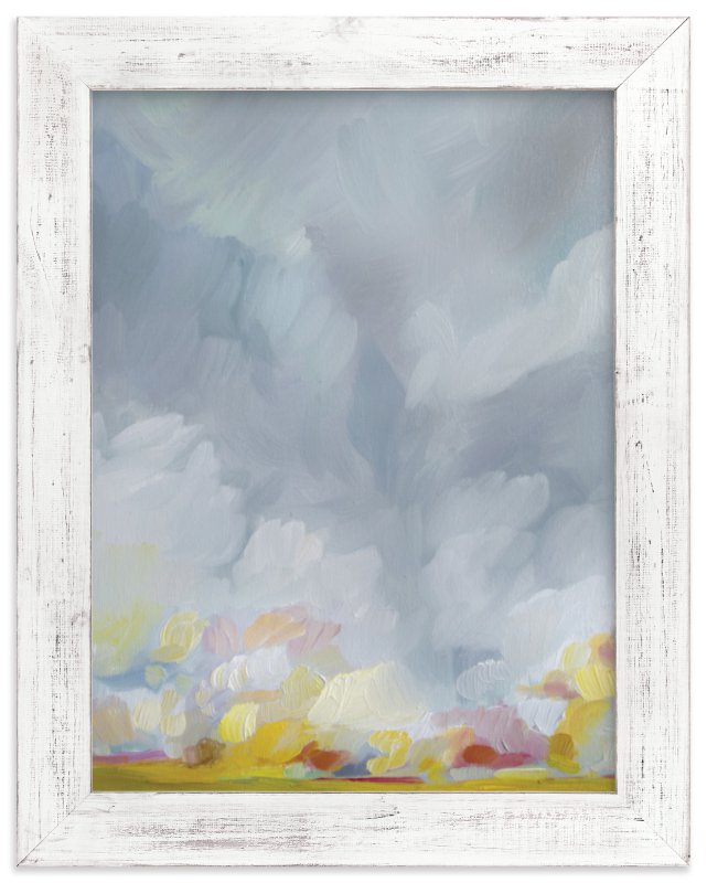 """Grace in the Winds"" - Limited Edition Art Print by Emily Jeffords in beautiful frame options and a variety of sizes."