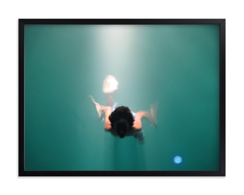"""Pool Illumination"" - Limited Edition Art Print by Georgia Tankard in beautiful frame options and a variety of sizes."