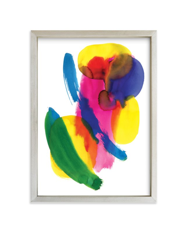 """""""Abstract Watercolor"""" - Limited Edition Art Print by Alexandra Dzh in beautiful frame options and a variety of sizes."""