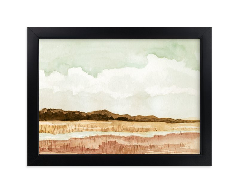 """""""Wetland"""" - Limited Edition Art Print by Field and Sky in beautiful frame options and a variety of sizes."""