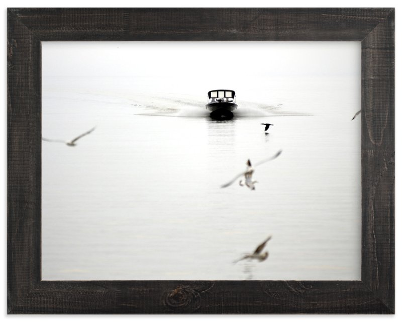 """""""Seagulls"""" - Limited Edition Art Print by Lisa Cersovsky in beautiful frame options and a variety of sizes."""