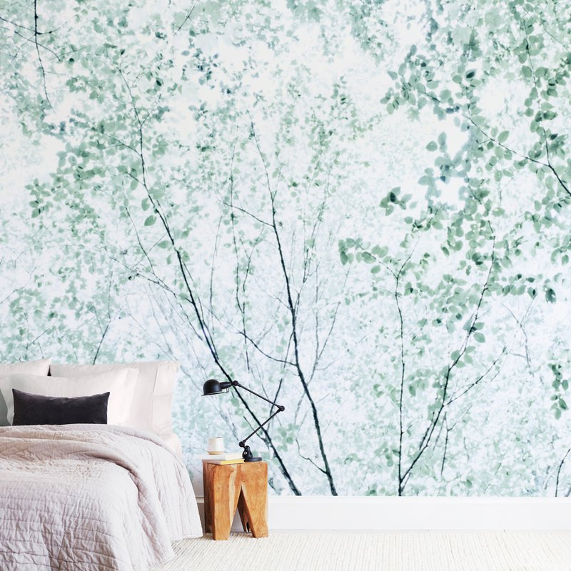 Batik Forest Wall Murals